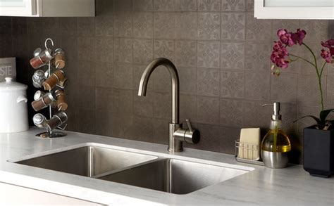 Peel & Stick Tile Backsplash : Peel And Stick Backsplash Ideas For Your Kitchen