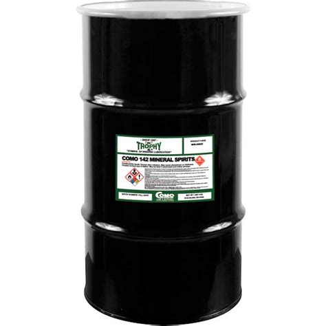 solvent 142 drum gallon lob trophy comolube odor low