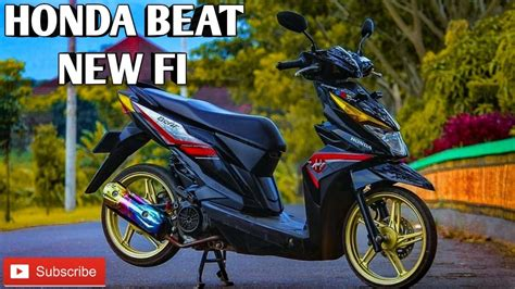 Modifikasi Beat Fi Babylook by Modifikasi Beat Babylook Honda Beat New Fi Part 1