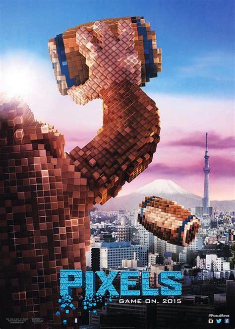 Five Posters For Pixels The Hollywood Film Based On A