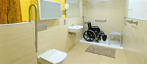 modern bathroom designs for a handicapped accessible home