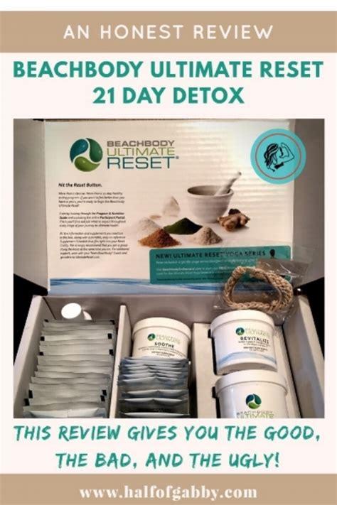 Honest Review of Beachbody's Ultimate Reset 21 Day Detox