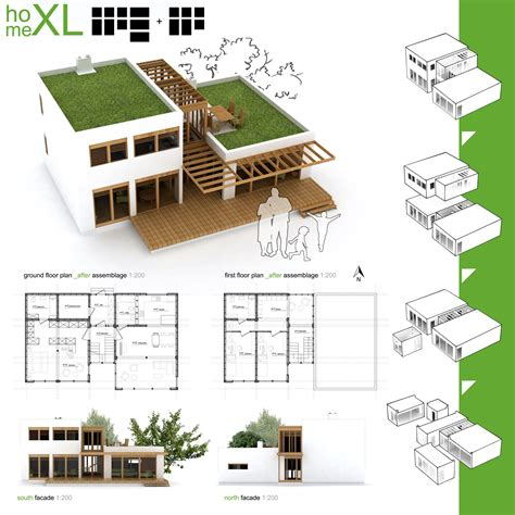 green architecture house plans gallery of winners of habitat for humanity s sustainable home design competition 15