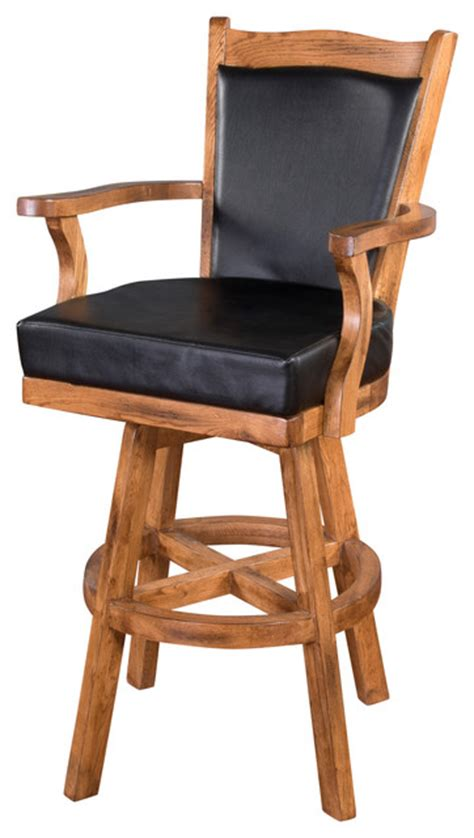 Sedona Swivel Barstool  Southwestern  Bar Stools And