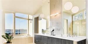 eclairage pour salle de bain affordable lumiere pour With carrelage adhesif salle de bain avec carré lumineux led