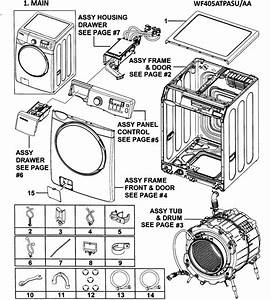 Samsung Front Load Washer Replacement Parts