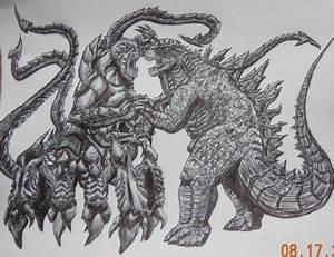 Monster Battle by BozzerKazooers on DeviantArt