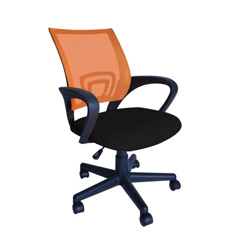 chaise bureau orange chaise de bureau fauteuil de direction orange magasin en