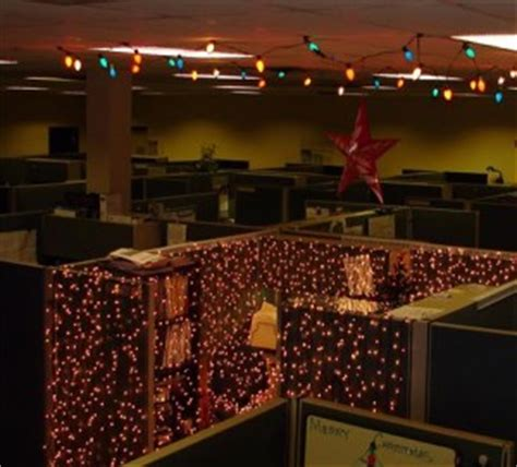 themes for christmas celebrations at office decorating your cubicle for the holidays made