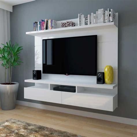 Painel para TV 50 Polegadas Zeus Branco Gloss 184 cm