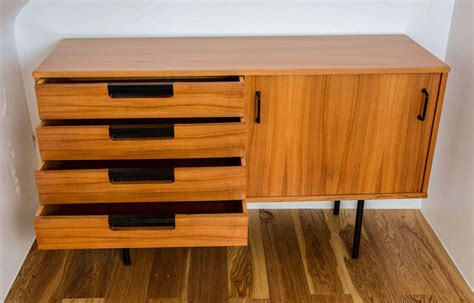 chest  drawers  pierre guariche meubles tv