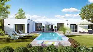 Maison Architecte Plain Pied : marine maisons elysees ocean ~ Melissatoandfro.com Idées de Décoration