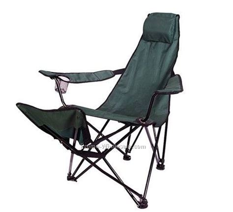 backpack chairs with footrest arm chair with footrest and newspaper bag wholesale china