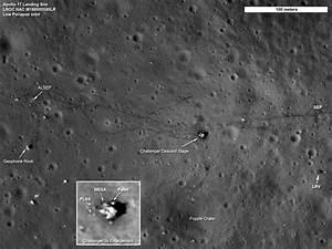 NASA Unveils New Detailed Photos of Apollo Moon Landing Sites