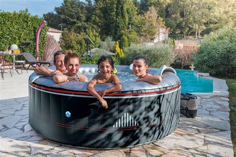 spa gonflable quot montana quot 6 places coloris noir piscines spas securite piscine et spa 224 martigues