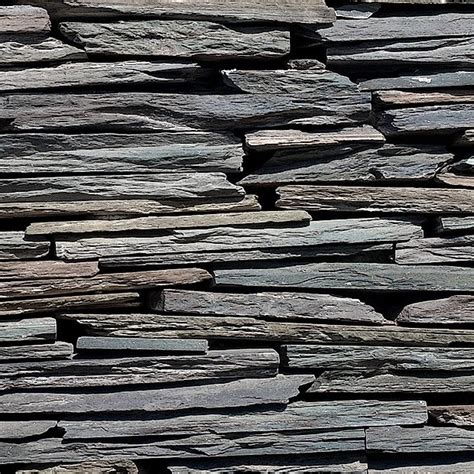 stacked slate wall tile stone texture 024 stacked slate wall cladding square texture
