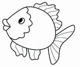 Fish Coloring Pages Realistic Printable Tropical Getcolorings sketch template