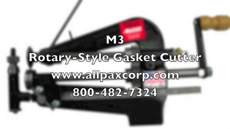 Allen M3 Rotary-style Gasket Cutter