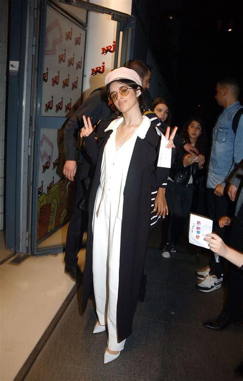 Camila Cabello Arrives Nrj Radio Studios Paris