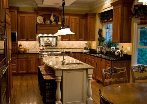 Kitchen Island Granite - serendipity refined my kitchen cherry cabinets absolute black granite white island juparana