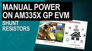 Demonstrating Manual Power Measurements On The Am335x Gp