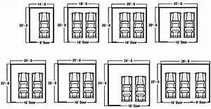 Dimension Garage 1 Voiture : standard garage dimensions google search art ~ Dailycaller-alerts.com Idées de Décoration