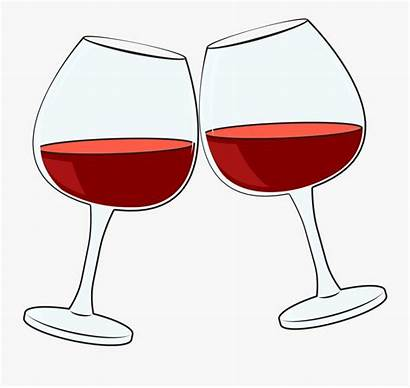 Wine Cartoon Glass Cheers Clipart Transparent Clipartkey