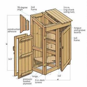 Building a Garden Tools Shed - This Old House Veggie