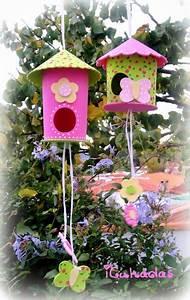 Pinterest Bricolage Jardin : bricolage enfant nichoir oiseau en mousse avec tutorial ~ Melissatoandfro.com Idées de Décoration
