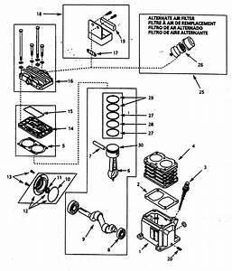 Campbell Hausfeld Vt627504 Air Compressor Parts