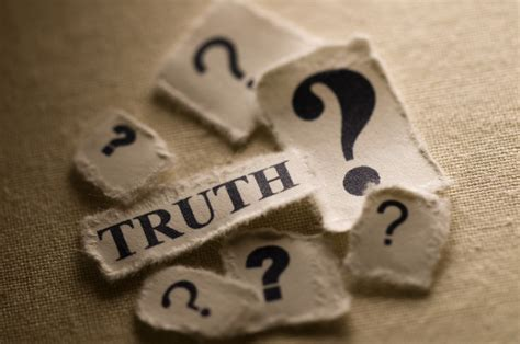 Is There One Or Multiple Truths Who Really Knows What