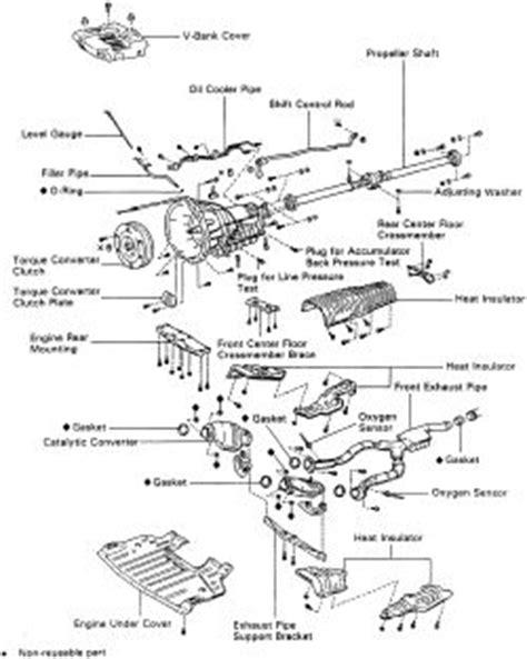 automotive service manuals 1998 lexus lx transmission control repair guides automatic transmission transmission removal installation autozone com