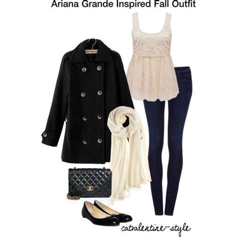 19 best images about Girly Winter Fashion on Pinterest   Ariana grande Electric blue and White ...