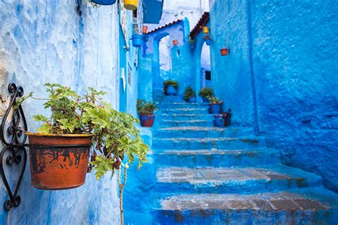 Chefchaouen Moroccos Blue City