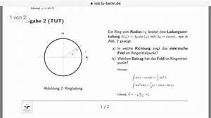 Unsicherheit Berechnen : feld betrag vom feld im ringmittelpunkt nanolounge ~ Themetempest.com Abrechnung