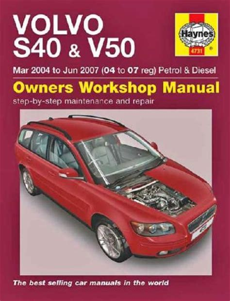 small engine repair manuals free download 1996 volvo 960 parental controls volvo s40 v50 petrol diesel 2004 2007 haynes service repair manual sagin workshop car manuals