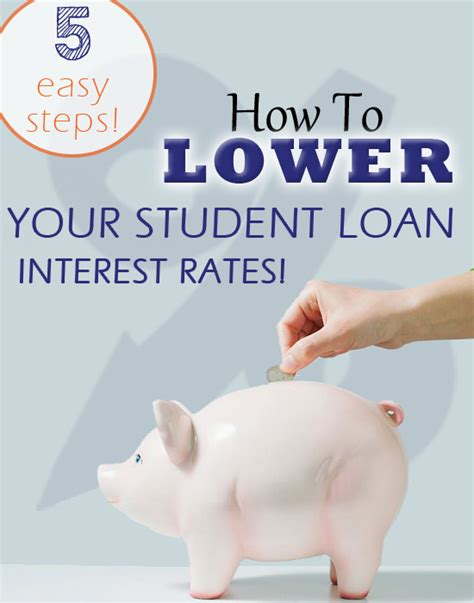 How To Lower Your Student Loan Interest Rates