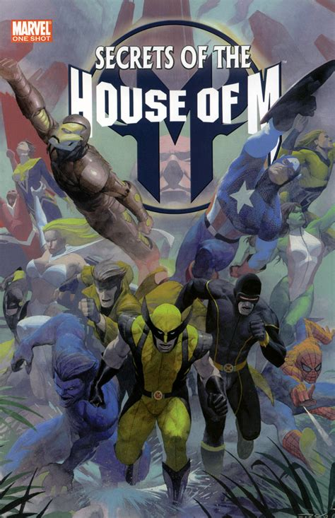The House Of by Secrets Of The House Of M 2005 1 Files