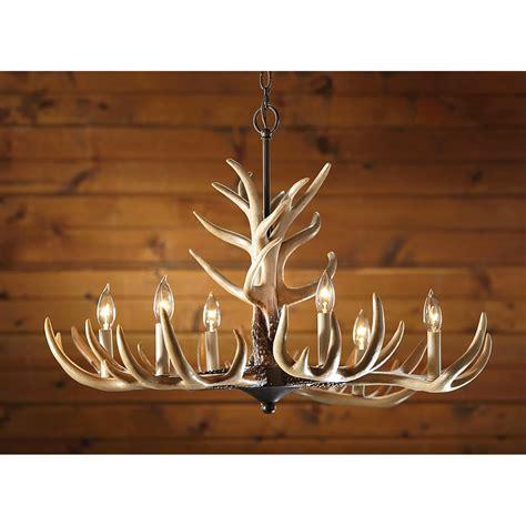 Lighting Fixtures Chandeliers by L Deer Horn Chandelier With Authentic Look For Your