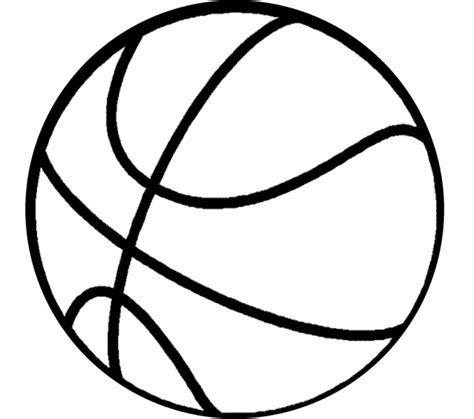 basketball template big basketball coloring pictures players free sketch coloring page