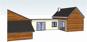 extension et agrandissement de maison en ossature bois With plan d agrandissement de maison