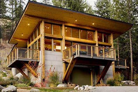 Modern Day Mountain Cabins