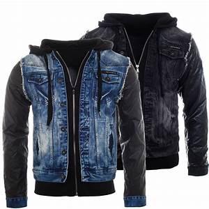 Cipo Baxx Jeans Herren Auf Rechnung : cipo baxx jeansjacke double optik vintage used biker look herren m nner ~ Themetempest.com Abrechnung