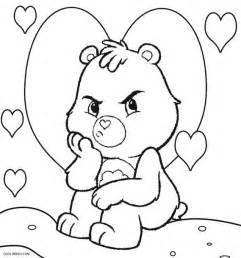 Baby Care Bears Printable Coloring Pages