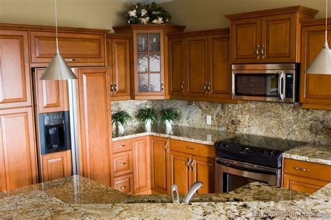 kitchen colors with medium wood cabinets pictures of kitchens traditional medium wood cabinets 9211