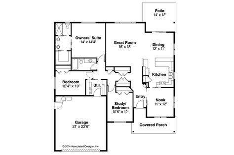craftsman house floor plans craftsman house plans pineville 30 937 associated designs