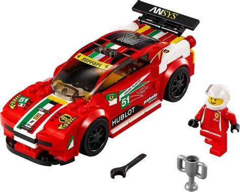 Lego 76895 speed champions ferrari f8 tributo. LEGO Speed Champions 75882, Ferrari FXX K och Development Center - Hem - Lekia.se