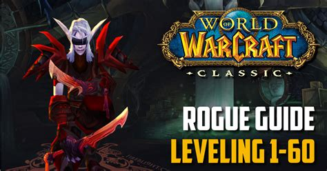 rogue wow classic leveling class