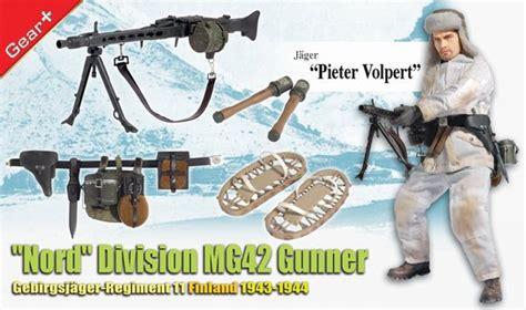 "1/6 ""pieter Volpert"" (jäger), ""nord"" Division Mg42 Gunner"