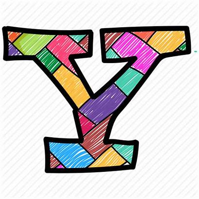 Letter Alphabet Icon Capital Colored Letters Colorful